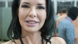 Veronica Avluv #1 - Bukkake Behind The Scenes