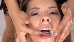Rebecca Volpetti #2 - swallowing 69 big loads