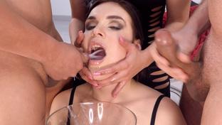 Hannah Vivienne #1 - swallowing 59 big loads