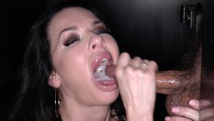 Veronica Avluv #2 swallowing 11 gloryhole loads