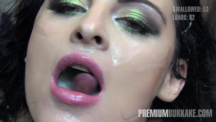 Lola #1 - swallowing 72 big loads