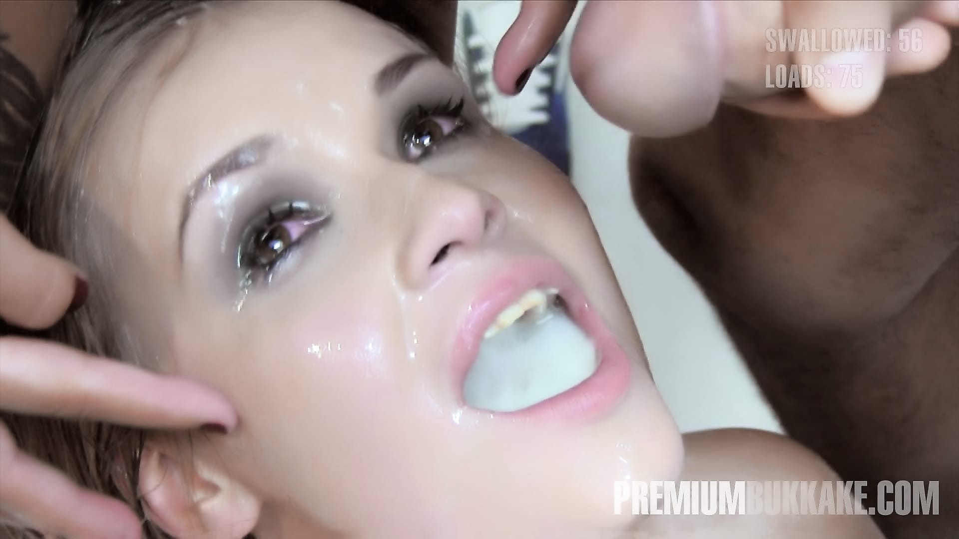 Premium bukkake veronica avluv swallows 61 huge mouthful c - 5 4
