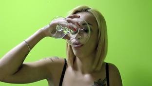 Silvana #6 - swallowing 99 big loads