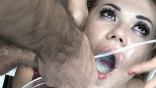 Eva #3 - swallowing 71 big loads