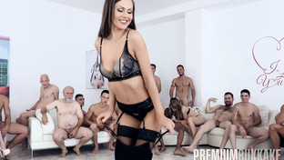 Tina Kay #1 - swallowing 68 big loads